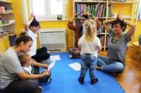 Čičak čiči: pričaonice za djecu do 3 godine starosti