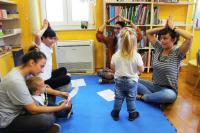 Čičak čiči: pričaonica za djecu do treće godine života